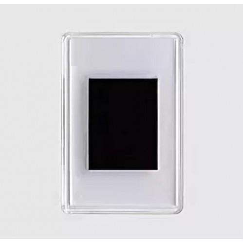 Магнит акриловый, прямоугольный (прозрачный) (фото 4,5*7см)