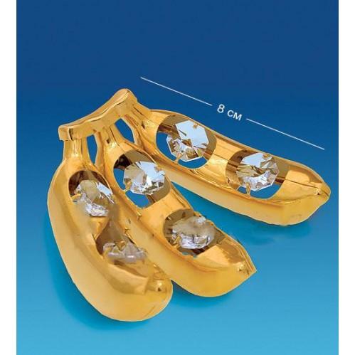 Swarovski  3859  Фигурка Бананы с кристаллами  7.5*7.5см