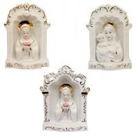 130-132  (12) Декоративный светильник Мадонна 3 вида 16*6*23см