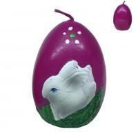 033007  (12-144) Свеча  яйцо 6*6*8см