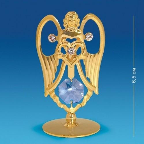 Swarovski  3979  Ангел малый на подставке с хрусталиком 3,5*3,2*6,5см.