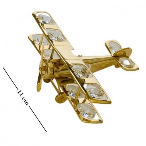 Swarovski  3391 Фигурка  Самолет с кристаллами.
