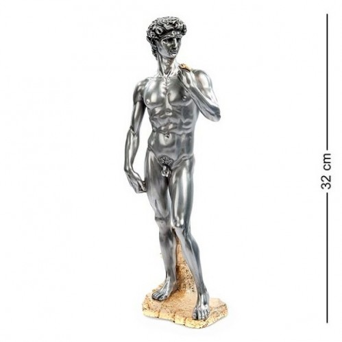 WS-25 (8) Статуэтка Давид Микеланджело под олово 11*32см