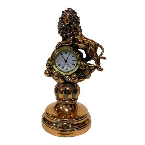 Статуэтка 1129 Часы-Знак зодиака Лев 15 см