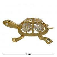 Swarovski  3408  Фигурка Черепаха с кристаллами  8*6,5*1,5см