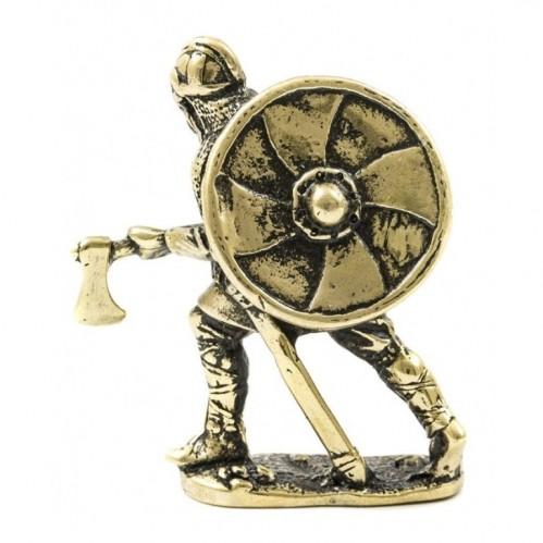 150396  Фигурка литая металлическая Скутат, латунь в подарочной упаковке