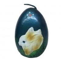 033006  (12-144) Свеча яйцо 6*6*8см