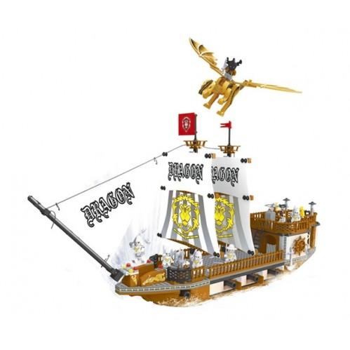 КОНСТРУКТОР  BRICK  27905  Пираты, 705  деталей