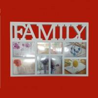 Фотоколлаж  Ат-1463  (1-18) 8фото Family 59*41см