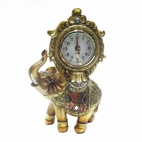 KH-1354  (48) Слон часы 11*6*20см