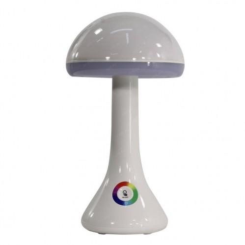 S-002-H Декоративный светильник Настольная лампа с разноцветной подсветкой грибочек с USB переходником