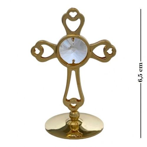 Swarovski  3538/G  Фигурка Крест с кристаллами . h=6,5см
