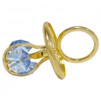 Swarovski  3394/GB  Фигурка  Соска с голубыми кристаллами 4*4*6см