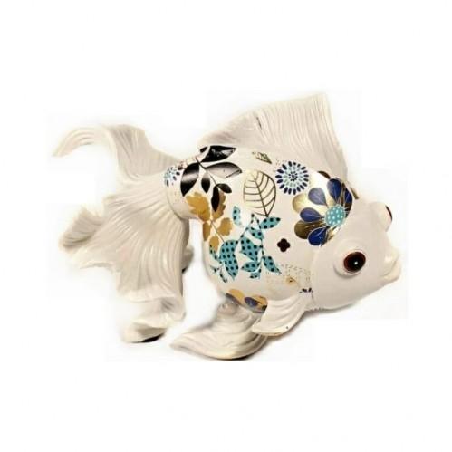 H2475-7N  (12) Фигурка Рыбка золотая  24*15*18см