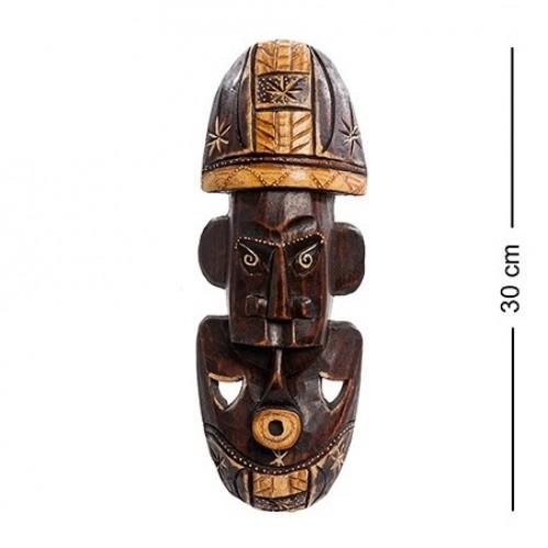 20-139 Панно настенное ''Маска'' (албезия, о.Бали) 30 см