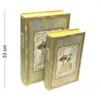 003014  (1-6) Книга-шкатулка, в наборе 2 штуки  22*7*33 см
