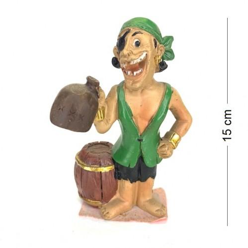 021017  (4-144) Фигурка Пират  14*5*13см