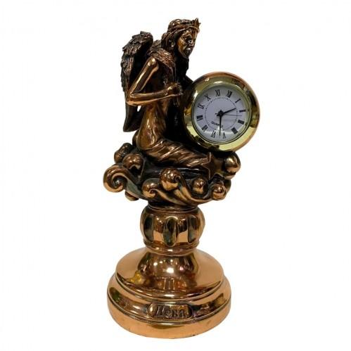 Статуэтка 1134 Часы-Знак зодиака Дева 15 см