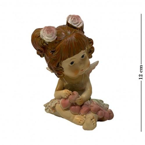 PLA17166  (1-48) Фигурка Девочка Ангел 2 вида,10*9*12см