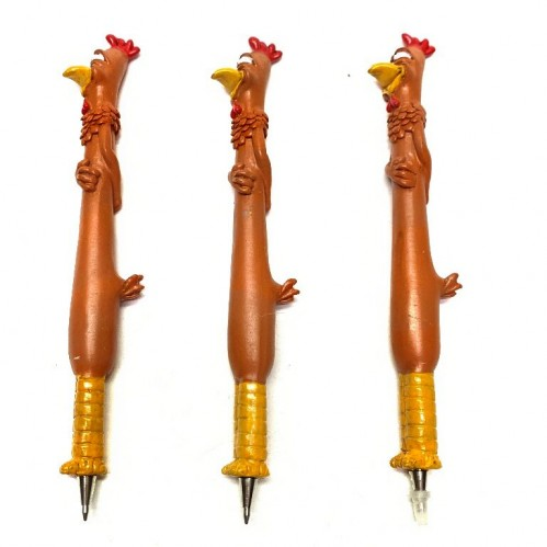 BIC4751*  (12-144)  Ручка-Петух  3*2*15см