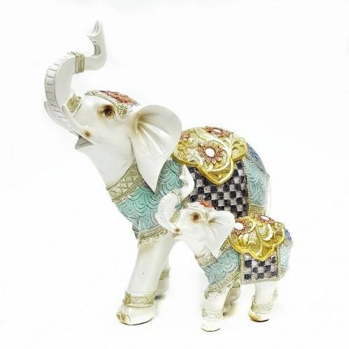 F-PK11154  (1-8) Два слона 20*12*20см