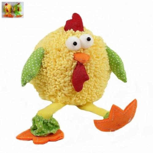 L52517  (1-64) Цыплёнок-мягкая игрушка 12*10*12см