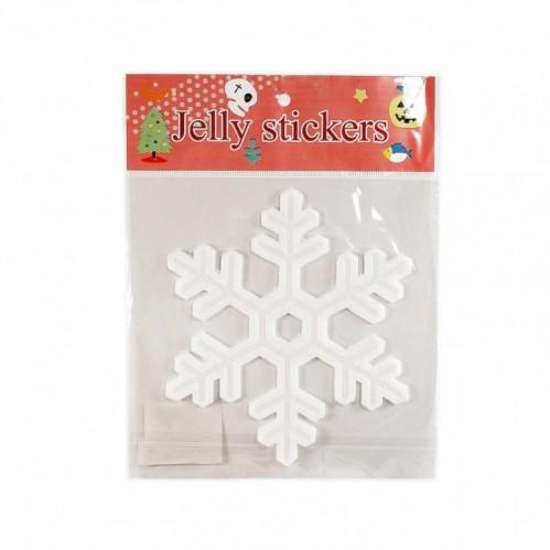 MML14227  (1-600) Наклейка Снежинка 20*20  (пакет)