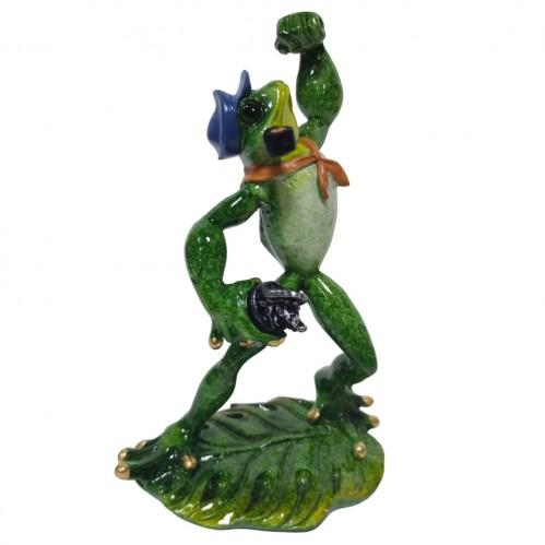 049048  (1-16) Фигурка Лягушка матрос, 12*8*19 см