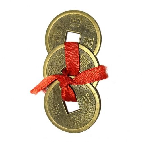 Связка трех монет в кошелек, d=2,7см арт. 03-2