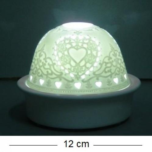 Декоративный светильник 97010W фарфор 12*10cm