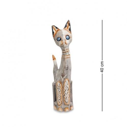 99-022 Фигурка Кошка 40см (албезия, о.Бали)