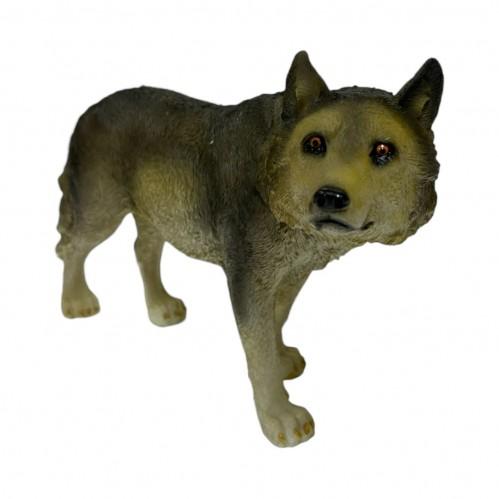 HOL20768  (1-16) Фигура Волк, 23.5*7.5*14 см