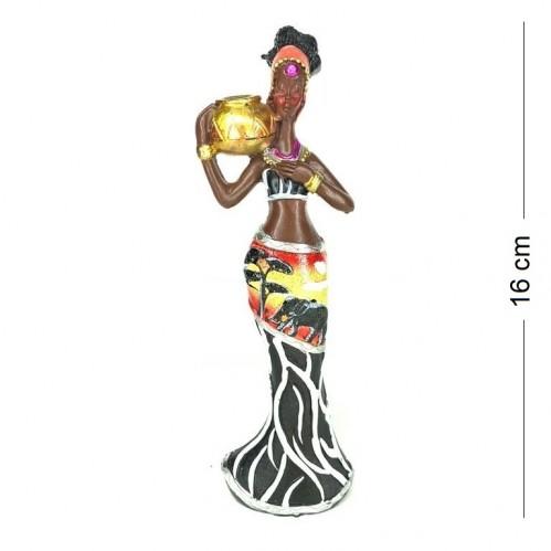 HOL19819  (2-72) Африканка с кувшином 6*4*16см