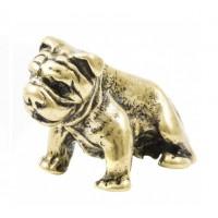 150808 Фигурка из бронзы Бульдог, CND-10