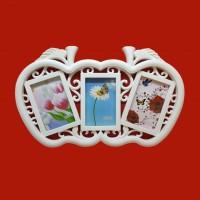 Фотоколлаж  Ат- 848  (24) 3ф. Два яблока 48*29см