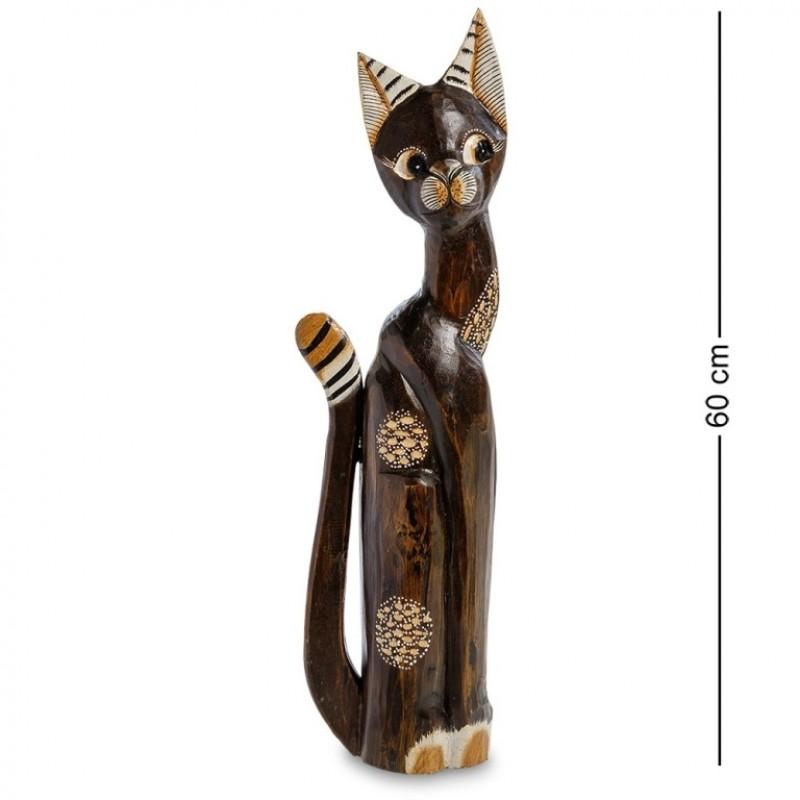 99-208 Фигурка Кошка 60см (албезия, о.Бали)