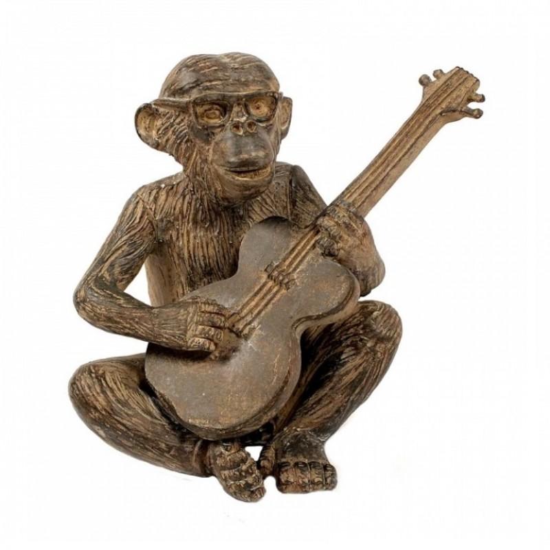 FB83236  (1-16) Фигурка Обезьяна, играющая на гитаре 14*9*14см