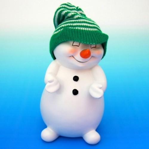 Q-15001  (16) Снеговик 12*12*21см.