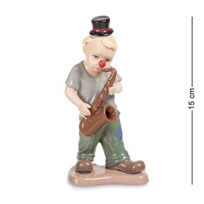 CMS-23/33 Фигурка ''Клоун с саксофоном'' (Pavone) 15см