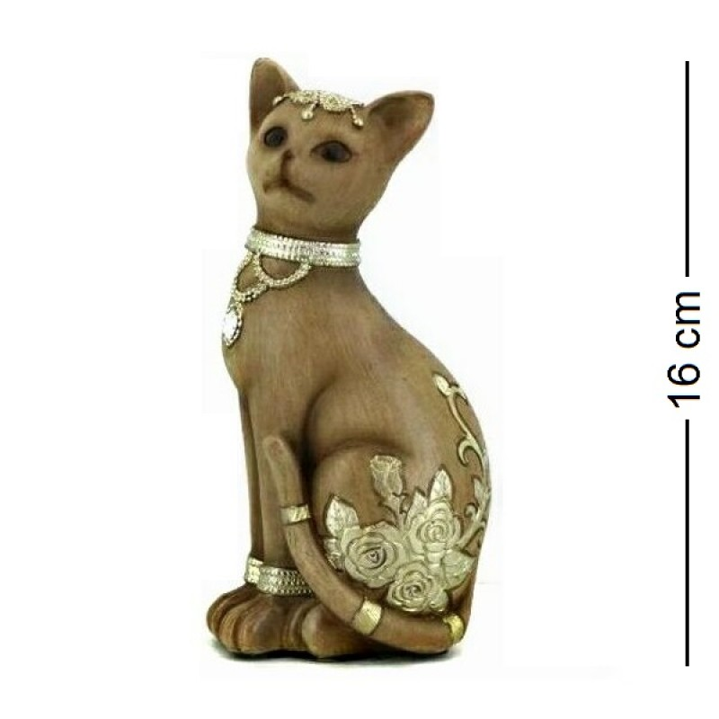 F-PK11285  (1-48) Кошка 8*5*16см