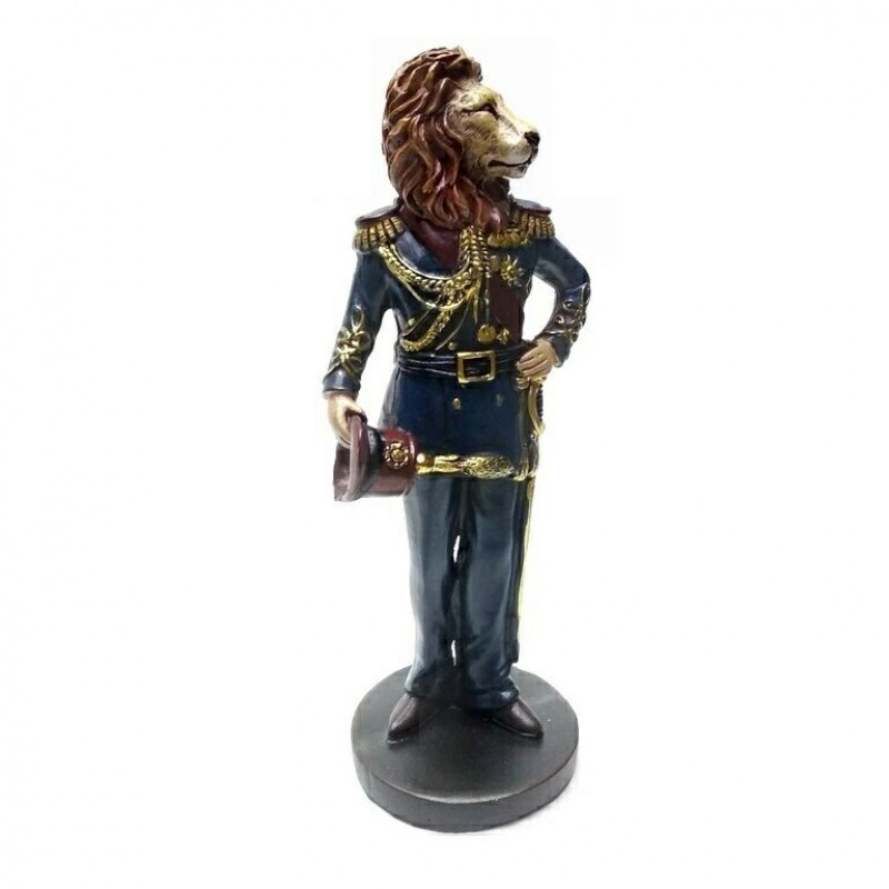 L53708  (1-24) Лев в одежде 7.5*6*16 см