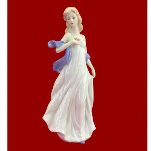 HP 024  (12) Статуэтка Девушка с цветком , 13*30 см