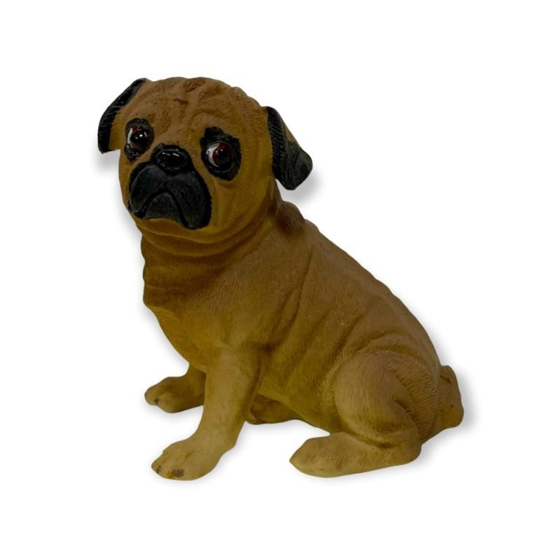L53023  (1-96) Фигурка собака Мопс  9*6*10см