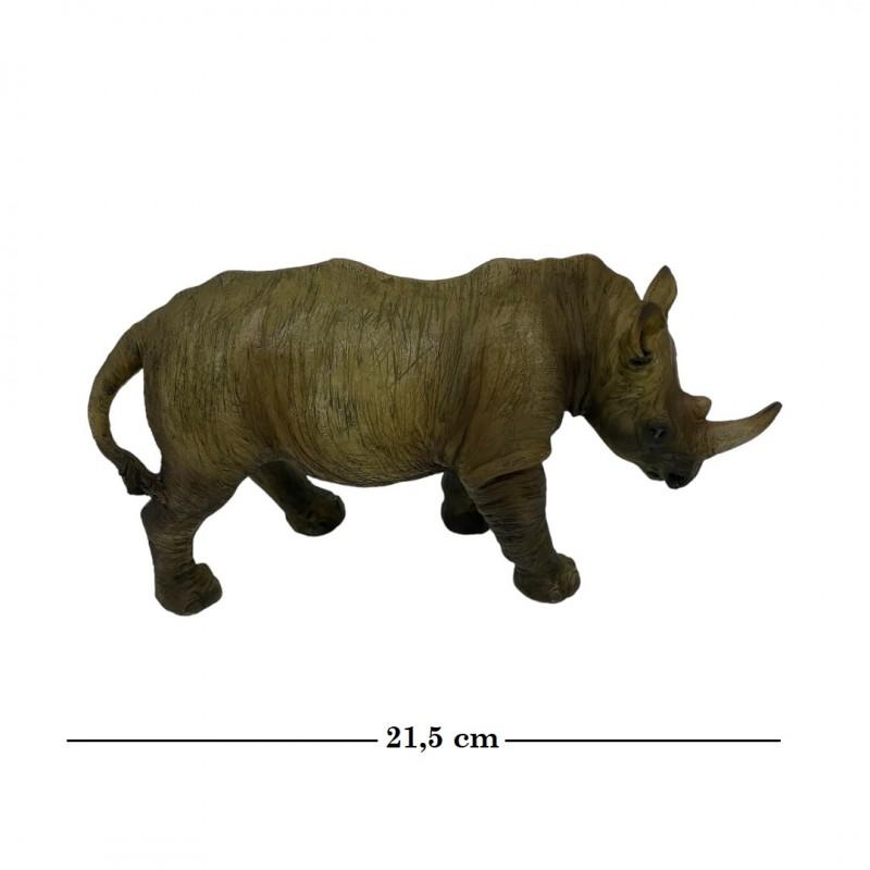 HOL21544  (1-24) Носорог 21.5*7*11см