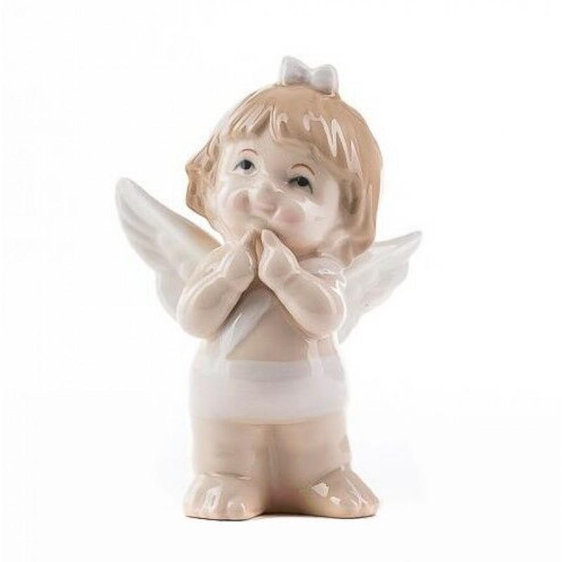 HC-13043 (24) Ангел, из фарфора, 10*10*14.5см
