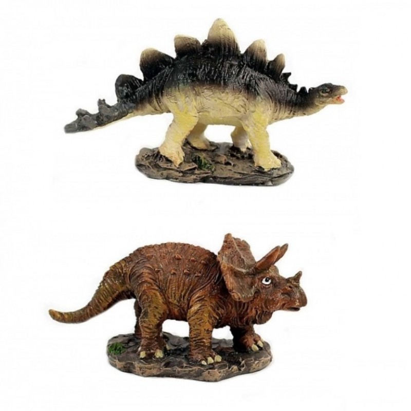 L-FK10371  (4-96) Фигурка Динозавр 2 вида, 9*3*5см