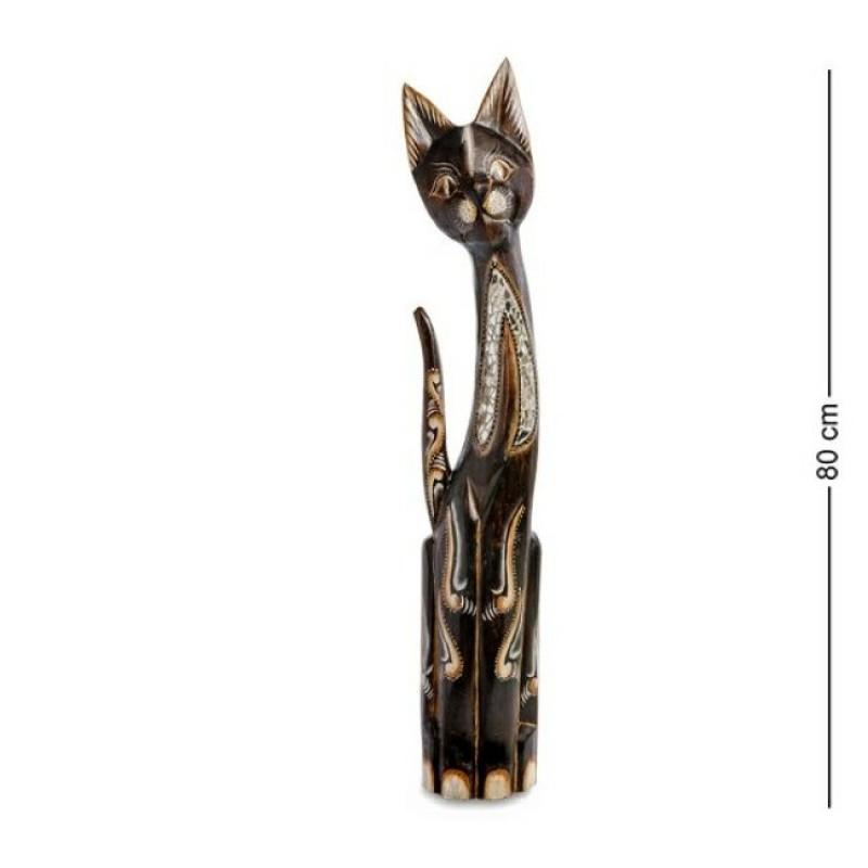 99-173 Фигурка Кошка 80см (албезия, о.Бали)