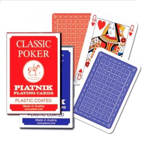 Карты игральные 1321 (12) Классик Покер 55л.