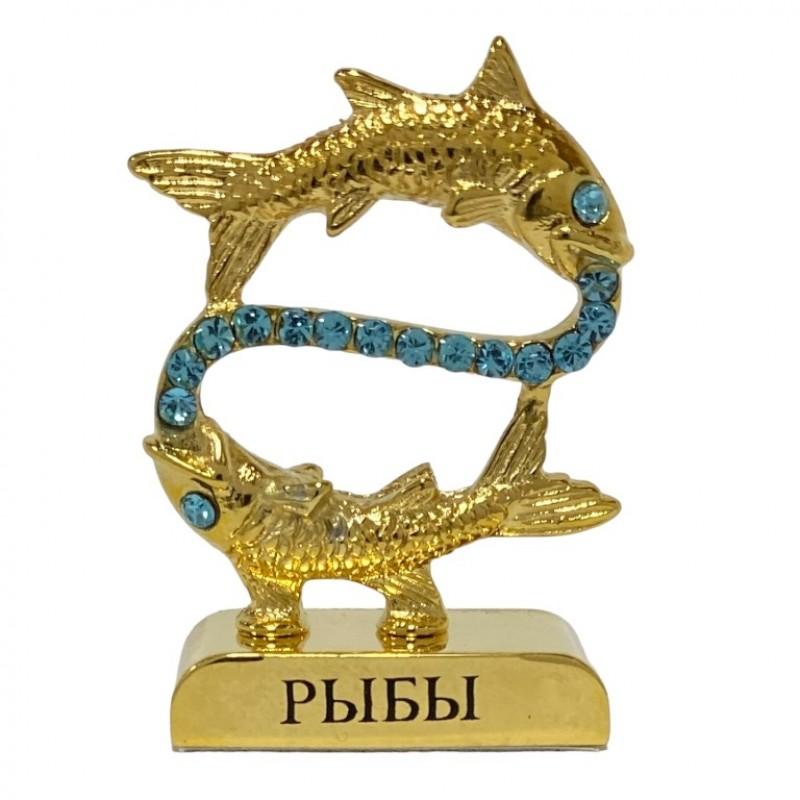 Swarovski 3763/G- 3 Фигурка знак зодиака Рыбы 4,5см