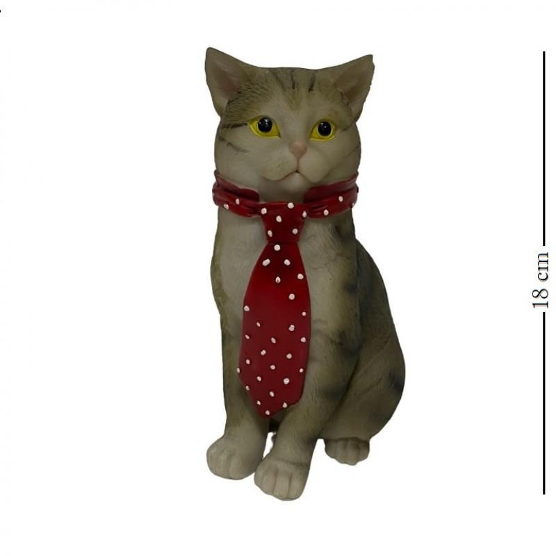 KEN78706  (1-24) Кот в галстуке 11.5*8.5*17.5см